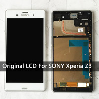 5 2 Replacement For Sony Xperia Z3 Lcd L55t D6603 D6653 Original Touch Screen Display Digitizer