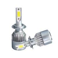 High Power 238W 23800LM H7 6500K White LED Light Super Bright Headlight Vehicle Car High Low