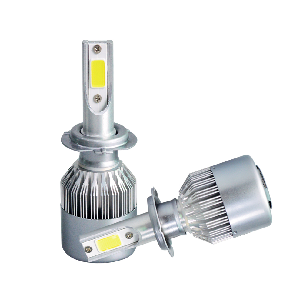 High Power 238W 23800LM H7 6500K White LED Light Super Bright Headlight Vehicle Car High Low Beam Bulbs Kit 2pcs все цены