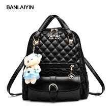 Хороший новый Kawaii Носки с рисунком медведя из мультика женщины рюкзак опрятный школьные сумки рюкзак для подростков девочек женские милые случайные плед дорожная сумка