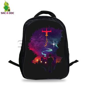 7a71d13be755 SAC A DOC Anime Backpack for Teenagers Students School Bags