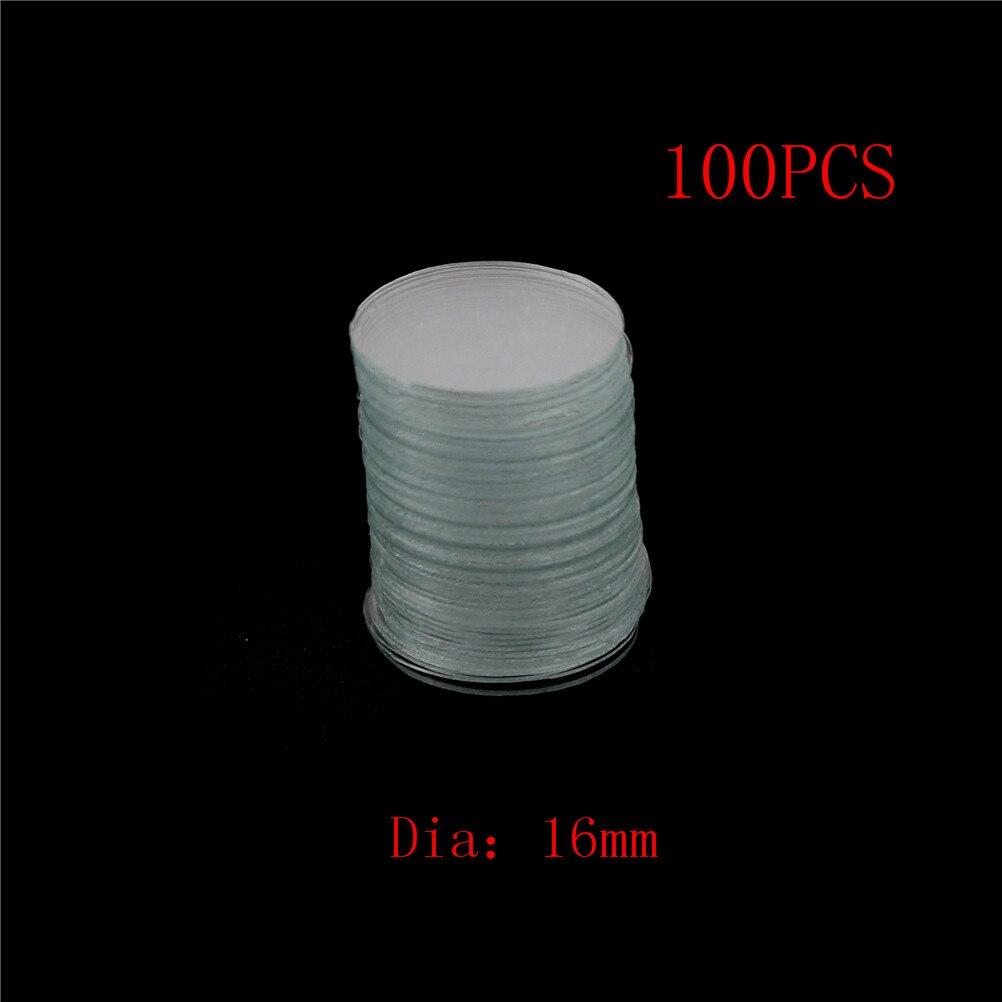 C/âble Blanc rond Clips  100 pcies 16mm