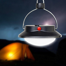 ABS Camping Tent Lanterns Outdoor Portable Light Lamp Home Emergency Black Lantern Surper Bright 60LEDs Handheld Spotlight