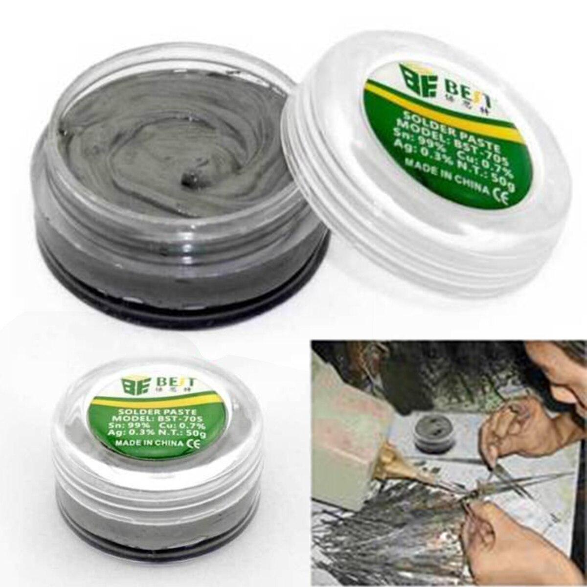 Strong Adhesive LeadFree Soldering Paste Solder Flux Paste Cream 50g for PCB BGA PGA SMD< Mobile Phones Maintenance Mayitr
