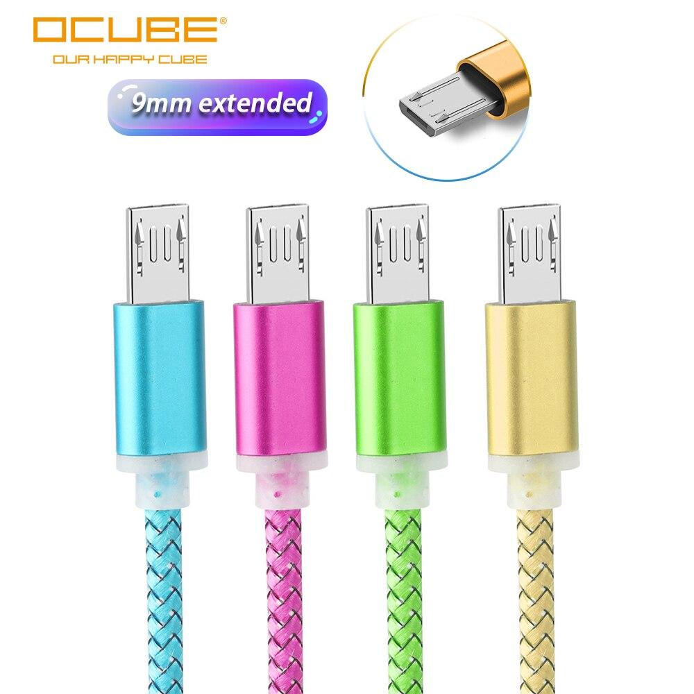 Câble de chargement Micro USB 9mm de Long pour Oukitel K10000/K3 C12 Pro Blackview A7/A20/A30/BV6000 Bv5500 Bv1000 chargeur Cabel Kabel