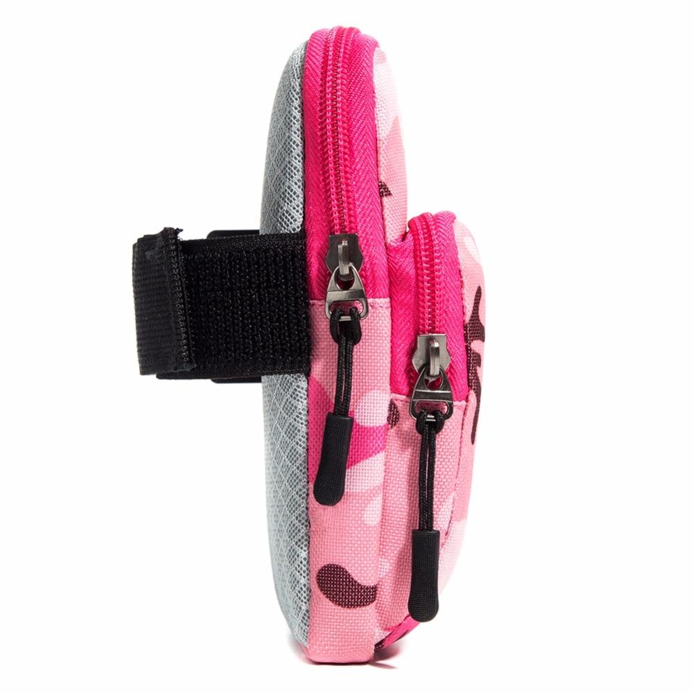 Män Kvinnor Universal Resa Armväska Dubbla Zipper Casual Handväska - Plånböcker - Foto 5