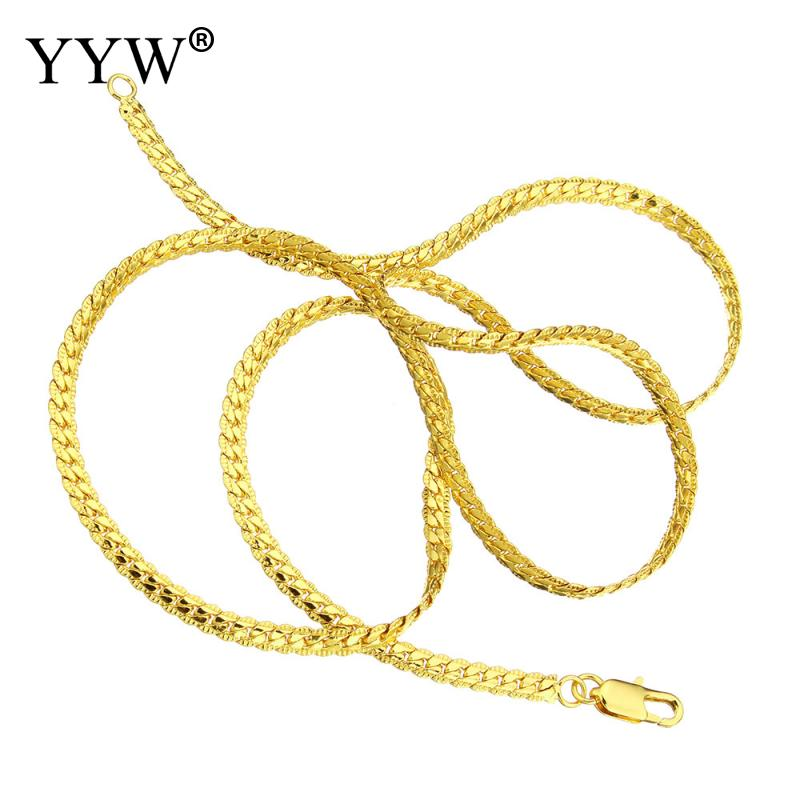 vertebrae brass colored superior original chains product wallet gold style quality chain