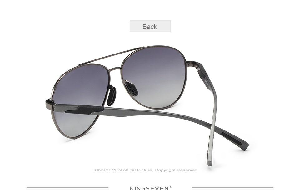 88b866b264db KINGSEVEN new design 2018 for men classic polarized sunglasses pilot ...