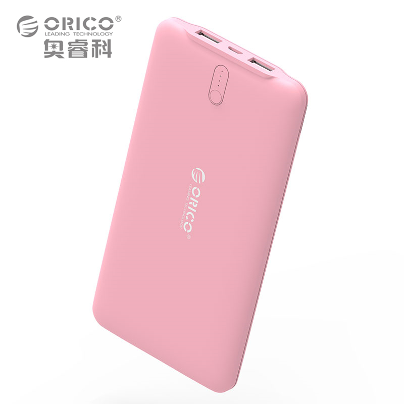 ORICO 10000mAh USB Universal Portable Charger External Mobile Backup Powerbank Battery For Mobile Phone