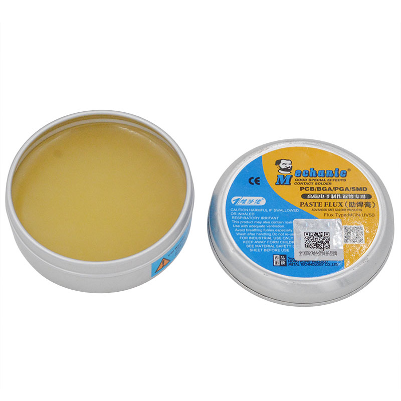 MCN-UV50 No-Clean 35g Paste Flux Soldering Tin BGA Solder Flux Electric Soldering Iron Welding Fluxes For PCB BGA PGA SMD free shipping 1 pcs no clean soldering flux pen for soldering solar cell fpc pcb cleaning flux pen page 6