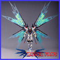 MODEL FANS INSTOCK dragon GUNDAM SEED Destiny Model Assembly version Metal Build MB strike freedom contain light wing effect