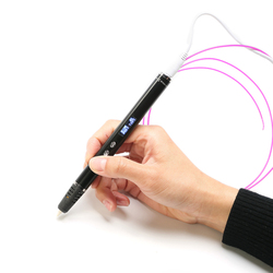 Lihuchen 3d caneta rp900a diy 3d impressão caneta suporte abs/pla filamento 1.75mm brinquedo criativo presente para crianças design desenho