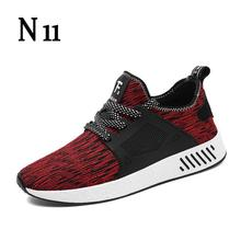 N11 New 2017 Fashion Men Shoes Men Breathable Casual Shoes Men High Quality Male Shoes Shoes Men Big Size 39-45