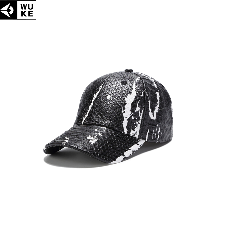 22f03382f861b Detail Feedback Questions about WUKE PU Baseball Caps For Men New Design  Snake Skin Pattern Snapback Hats Casquette Homme Women s Cap Fashion Sports  Bone ...