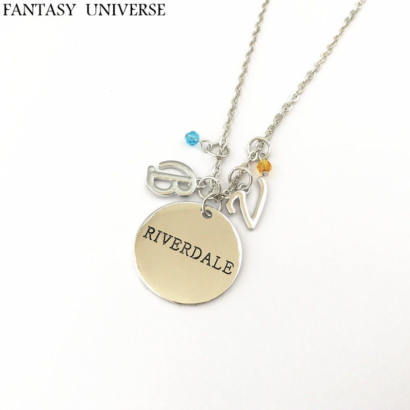 FANTASY UNIVERSE Freeshipping 1pcs Riverdale charm necklace NFHNEJ01