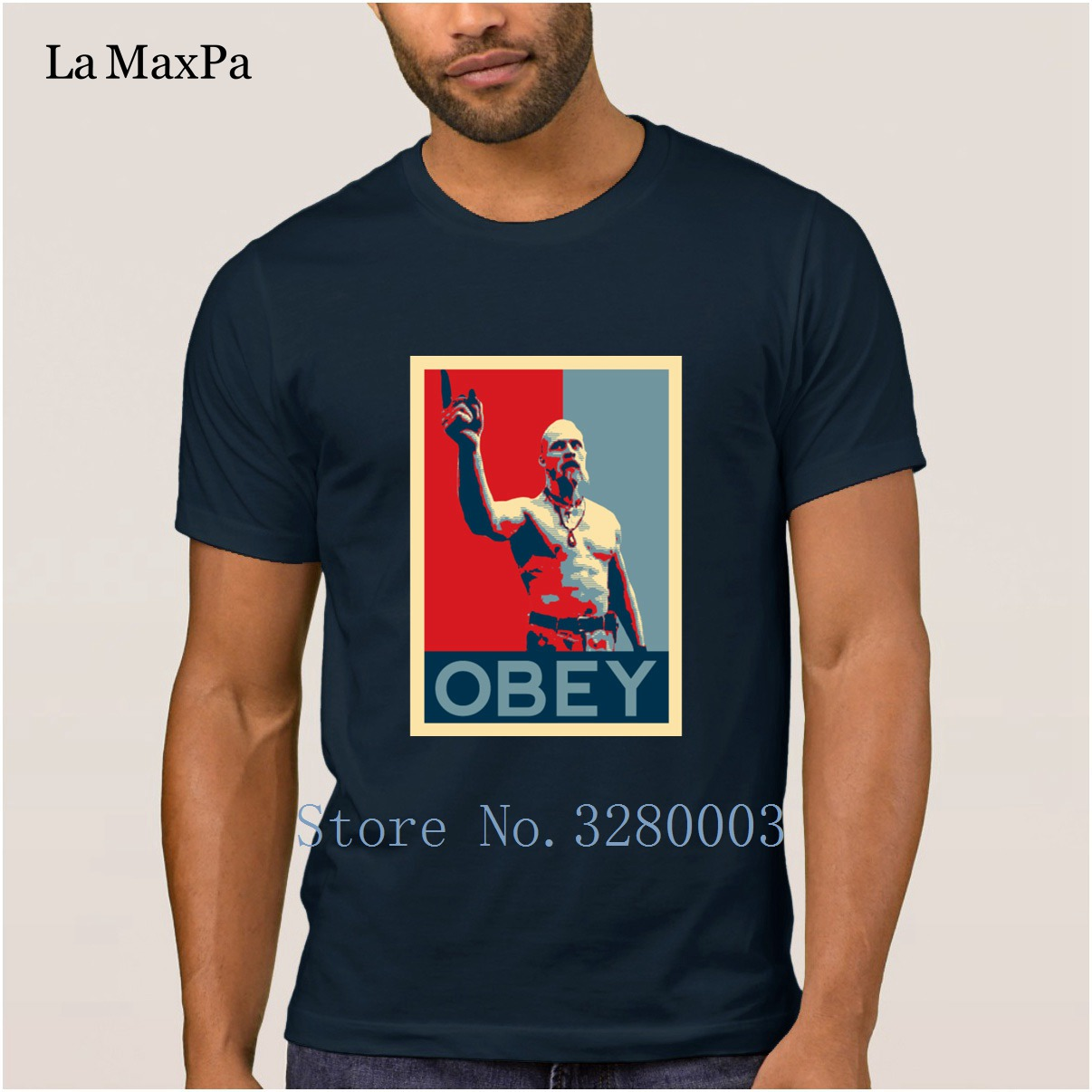 Image 2 - La Maxpa create Funny Casual men t shirt techno viking t shirt Spring Autumn Pictures tee shirt for men round Neck Fitness-in T-Shirts from Men's Clothing