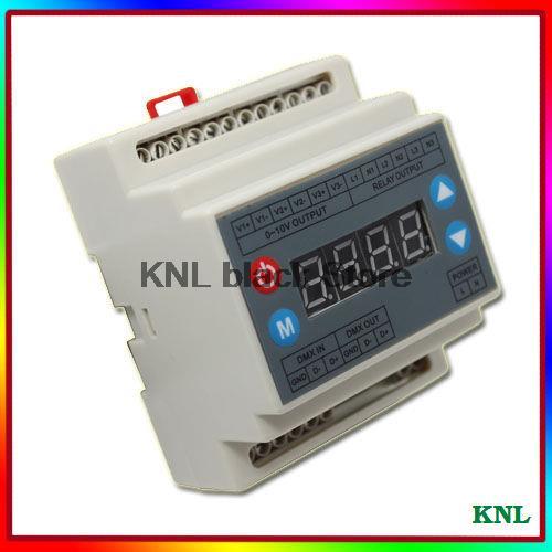 dmx led 0 10 v dimmer led dmx controller schakelaar 3 kanaals led