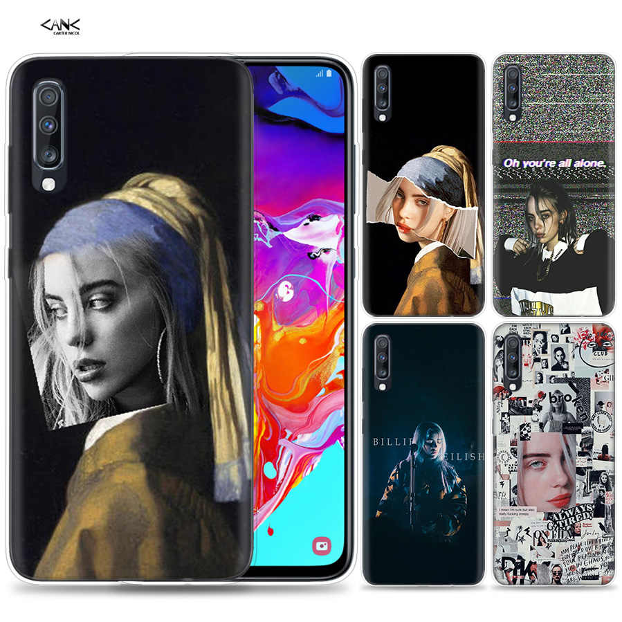 Bags Case for Samsung Galaxy Mobile Phone A50 A70 A30 A20 J4 J6 J8 A6 A8 M30 A7 Plus 2018 Note 8 9 Where Do We Go Billie Eilish