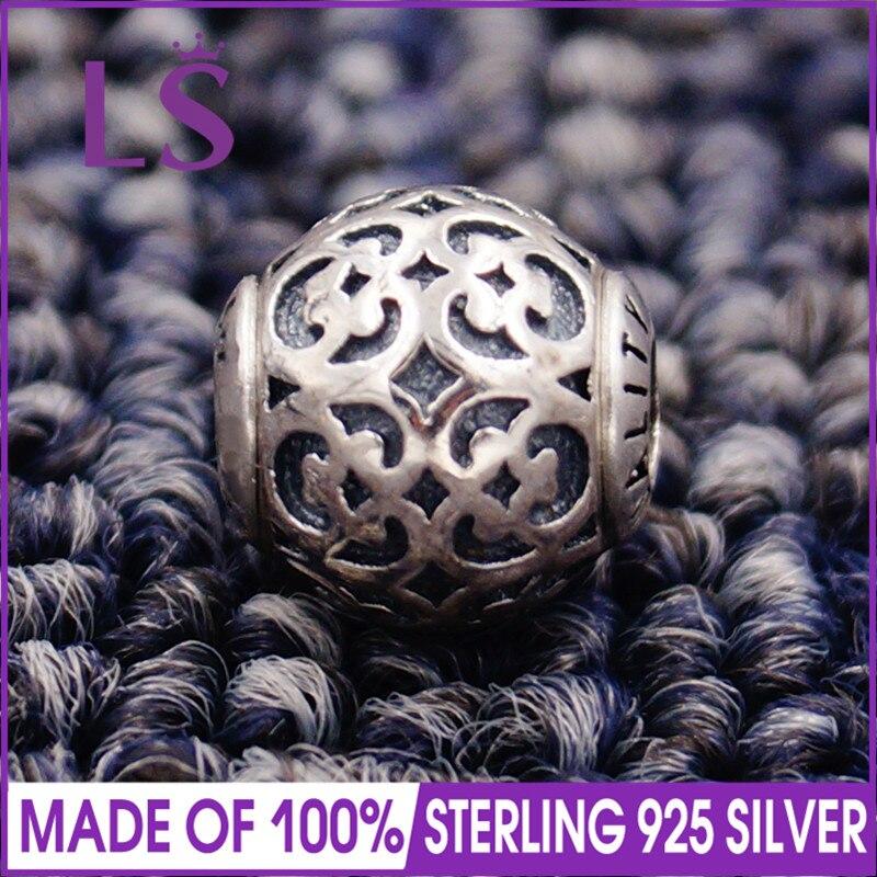 LS High Quality 100% S925 Silver Essence Spirituality Charm Beads Fit Original Essence Bracelets Pulseira Essencia.Fine Jewlery