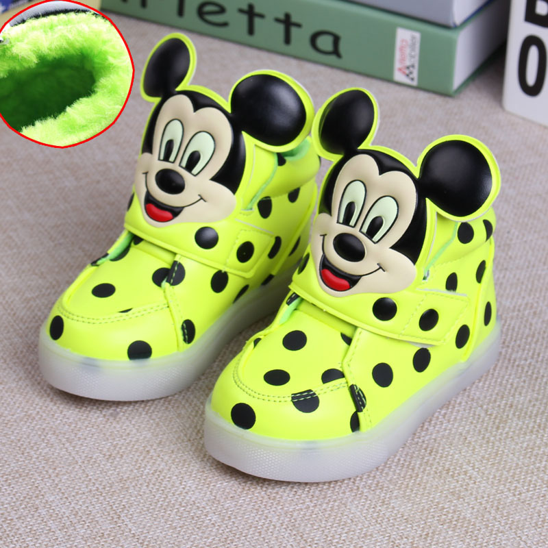 1d7c7034250a6 children shoes with light basket led kids bascket chaussure led enfant pour  fille garcon marque lumineuse sneakers lights up-in Sneakers from Mother    Kids ...