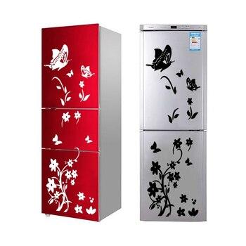 DIY schmetterlinge kühlschrank aufkleber blume kunst aufkleber wand ...