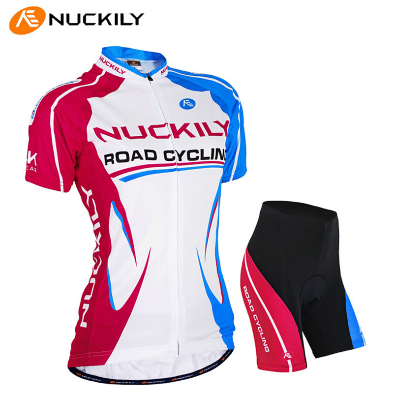 NUCKILY Elasticity Summer Sport Jerseys Shorts Slim Fit Women Bicycle  Clothing Breathable Pro MTB Road Bike Cycling Jersey Sets-in Cycling Sets  from Sports ... 04ef79d3c