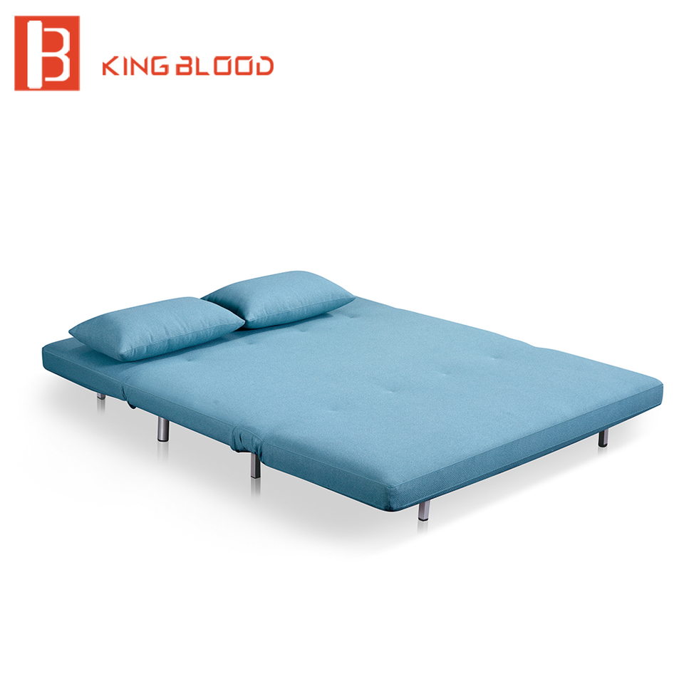 - French Style Lazy Boy Hotel Two Seater Fabric Sofa Cum Bed Designs