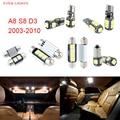 22 unids LED Canbus Luces Interiores Paquete Kit Para Audi A8 S8 D3 (2003-2010)