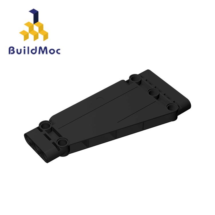 BuildMOC Compatible Assembles Particles 18945 5x11 For Building Blocks Parts DIY LOGO Educational Gift Toys