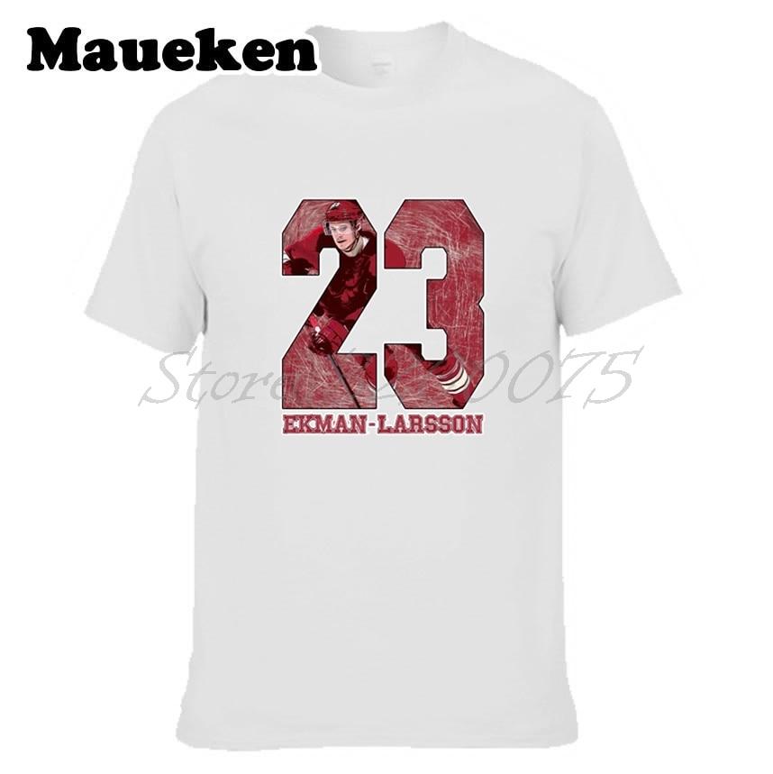 Men Arizona 23 Oliver Ekman-Larsson T-shirt Clothes Short Sleeve COYOTES T SHIRT Mens Fashion W0216023