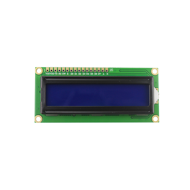 1602 LCD Module Blue/Yellow Green Screen with IIC/I2C 16x2 LCD Backlight Module LCD-1602+I2C IIC 5V for arduino DIY Kit 3