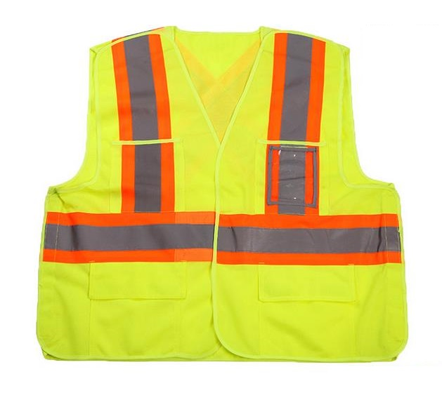 2016 New Style Warp Knitting Reflective Safety Vests Reflective Traffic Clothing With Pockets