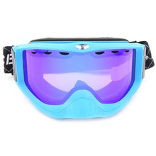 Benice Outdoor Winter Ski & Snowboard Goggles Dual Layer Anti-Fog Lens Long Adjustable Strap UV protection SN-1700