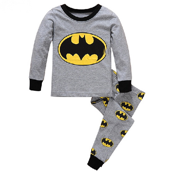 Children Cartoon Pajamas Cotton Nightwear Baby Boys Pyjamas Cartoon  Loungewear Kids Girls Homewear Spring Autumn Sleepwear ac59a8b59