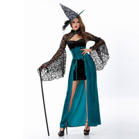 Sexy Heks Kostuum Deluxe Adult Womens Magische Moment Kostuum Volwassen Heks Halloween Fancy Dress