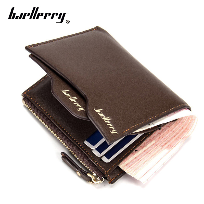 Baellerry Short Money Small Men Wallet Male Coin Purse Cuzdan For Card Holder Baellery Portomonee Walet Perse Vallet Carteras document for passport badge credit business card holder fashion men wallet male purse coin perse walet cuzdan vallet money bag