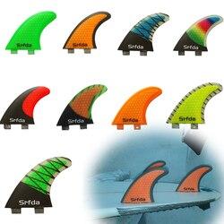 Barbatanas de Surf FCS G5 quillas quilhas Quilhas Prancha de Fibra De Vidro Do Favo de mel de Alta Qualidade Cauda Propulsores Leme Quilhas Quillas Quilhas S