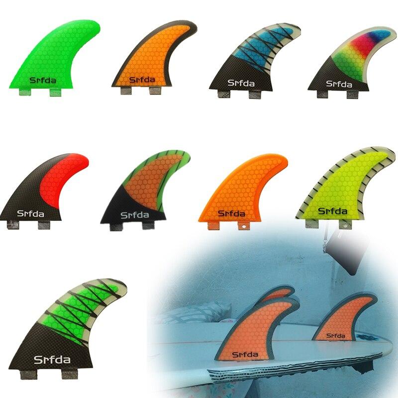 FCS G5 ласты для серфинга quillas quilhas Keels высокое качество соты стекловолокна хвост серфинга двигатели руль Quilhas Quillas Keels S