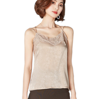 Cotton Velvet Lace Tops Women Solid Sexy Crop Tops Fashion Spring Summer Camisole Halter Top Black