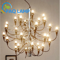 Gino Sarfatti Designed Chandelier 2097 Romeo Moon The Fruits Of Summer 30 Bulbs Lamp Residential Dinning