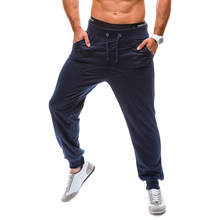 купить Zogaa Brand Spring Casual Pants Men Skinny Mens Sweat Pants Male Cotton Sportswear Menswear Long Casual Trousers Straight Pants дешево