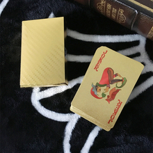 Original Waterproof Luxury 24K Gold Foil Plated Poker