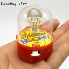 Mini Fingers Basketball Shooting Games Parent-Child Interactive Desktop Games Early Resolving anxiety anti stress Toys Gift(China)