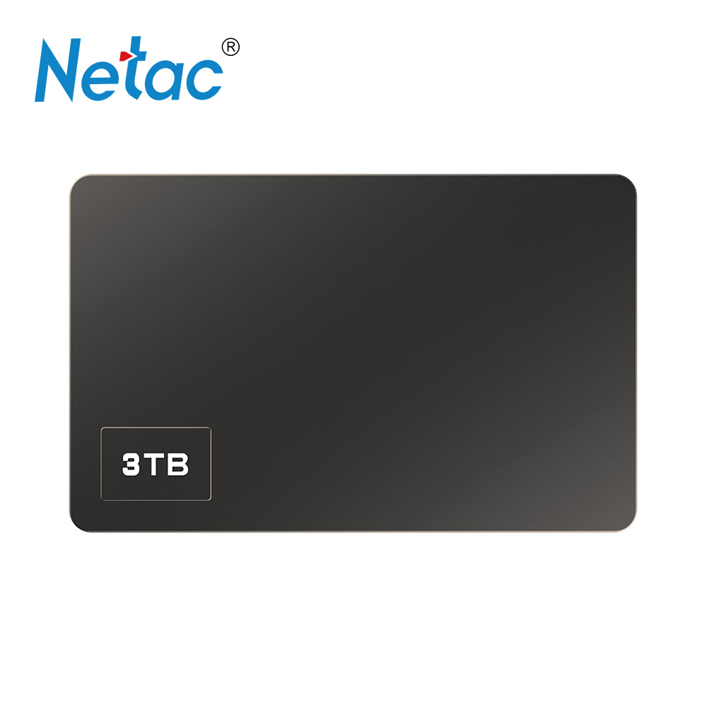 Netac K305 3TB 2.5 USB3.0 Portable HDD memoria hard drive externo bilgisayar Mobile External Hard Disk Drive for Desktop Laptop