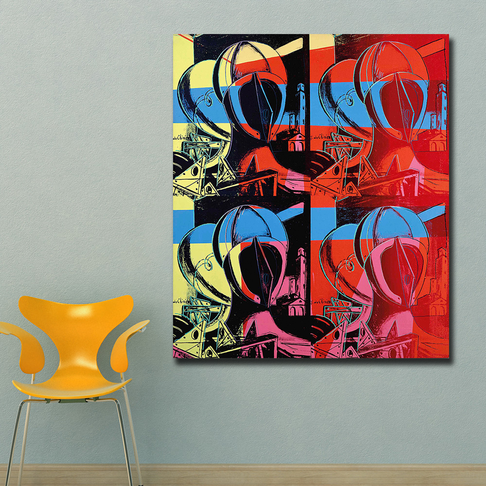 Pop Art Home Decor: Andy Warhol The Two Sisters Pop Art Wall Art Decor Canvas