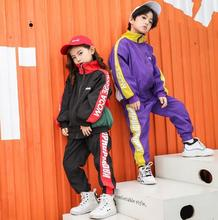 цена на Children Clothing Sets Spring 2019 Teenage Girls Boys Clothes Sports Suit Long Sleeve Top+ Pants 2 pcs Set Autumn Kids Tracksuit