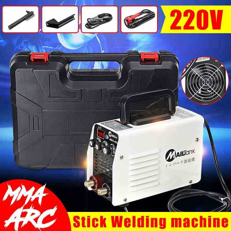 Mini 220V 400A IGBT Inverter Hot Start MMA Arc Welder Welding Machine Tools for Welding Working Electric Working w/ Accessories