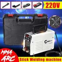 Mini 220V 400A IGBT Inverter Hot Start MMA Arc Welder Welding Machine Tools for Welding Working Electric Working w/ Accessories