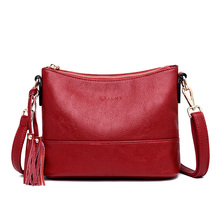luxury handbags women shoulder bag tote bags hobo soft Genuine leather ladies crossbody messenger bag for women 2019 Sac a Main