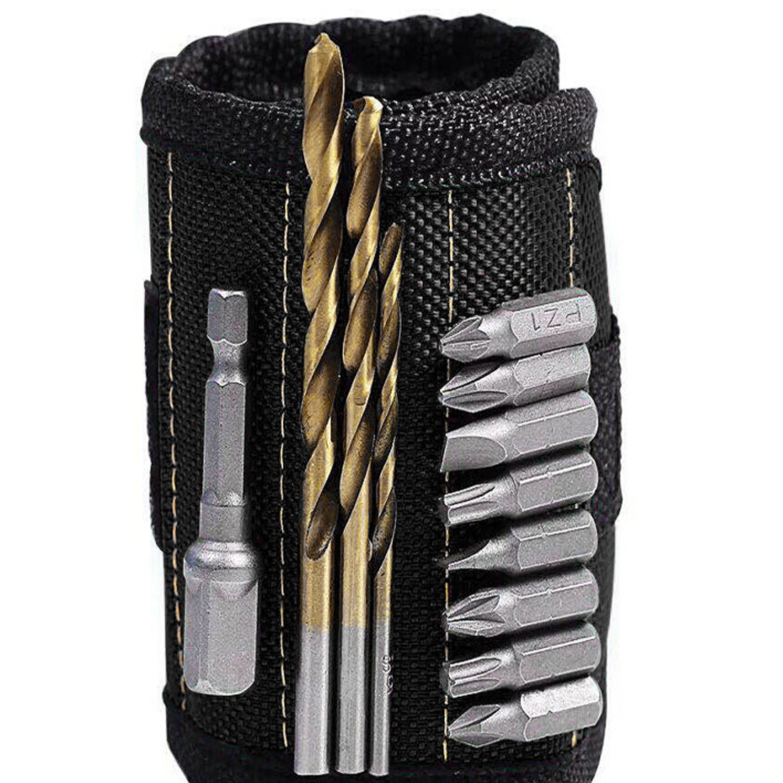 Wrist Support Strong Magnetic Nail Screw Drill Bit Holder Wristband Holding Hand Tool Bag Bracelet Belt Auto Car Repair Toolkit